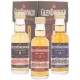 The GlenDronach Miniature Giftpack (8 YO, 12 YO, 18 YO) + GB 45 % 3 x 5 cl.