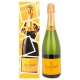 Veuve Clicquot Champagne Brut Yellow Label EOY Edition + GB 12,00 % 0.75 l.