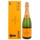 Veuve Clicquot Champagne Brut Yellow Label Mail Express Edition + GB 12,00 % 0.75 l.