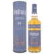 The BenRiach 21 Years Old Four-Cask Maturation Single Malt Scotch Whisky + GB 46,00 % 0.7 l.