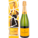 Veuve Clicquot Champagne Brut Yellow Label EOY Edition 12,00 %  0,75 Liter
