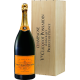 Veuve Clicquot Champagne Brut Yellow Label in Holzkiste 12,00 %  6,00 Liter