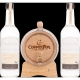 Wasmund's Copper Fox MALT Barrelkit Single Malt Whisky mit Fass 2x0,7l 62,00 %  1,40 lt.